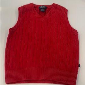 Boys E-Land Cotton Sweater Vest size 6